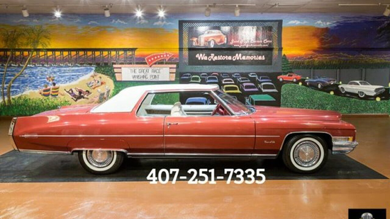 1971 Cadillac De Ville for sale 100929028