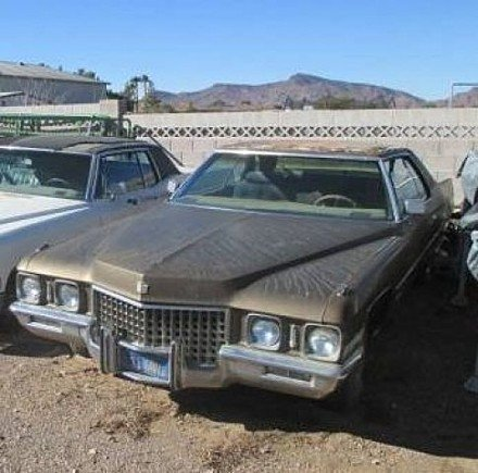 1971 Cadillac De Ville for sale 100961130