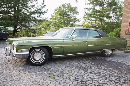 1971 Cadillac De Ville Fleetwood Edition for sale 100996967