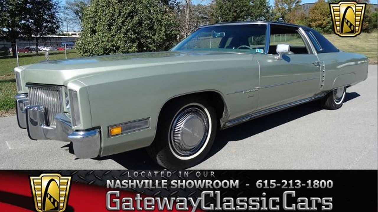1971 Cadillac Eldorado for sale 100964341