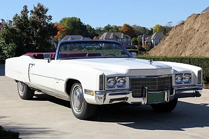1971 Cadillac Eldorado Convertible for sale 100968608