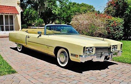 1971 Cadillac Eldorado for sale 100991790