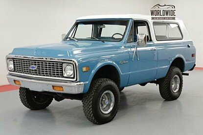 1971 Chevrolet Blazer for sale 100987152