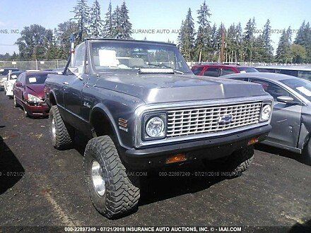 1971 Chevrolet Blazer for sale 101015212