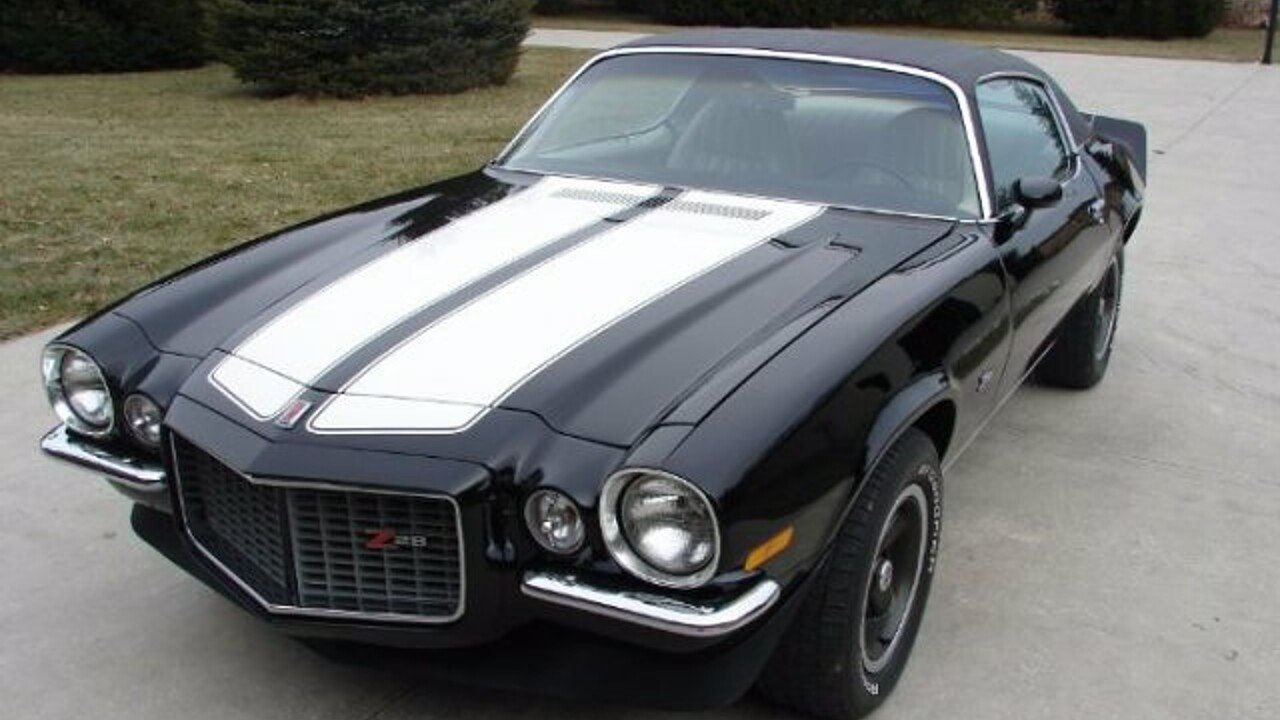 1971 chevrolet camaro z28 for sale near cadillac michigan 49601 classics on autotrader. Black Bedroom Furniture Sets. Home Design Ideas