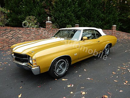 1971 Chevrolet Chevelle for sale 100733846