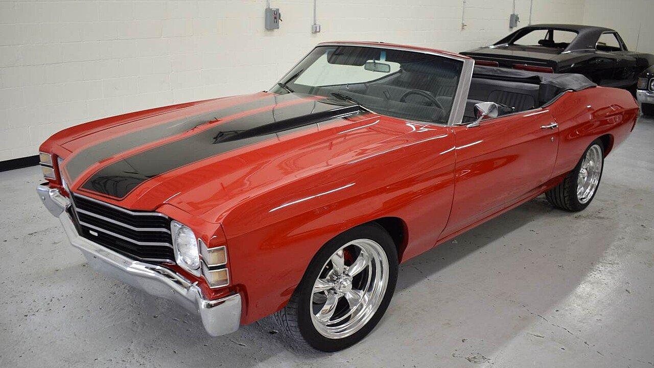 1971 Chevrolet Chevelle for sale near Irving, Texas 75061 ...