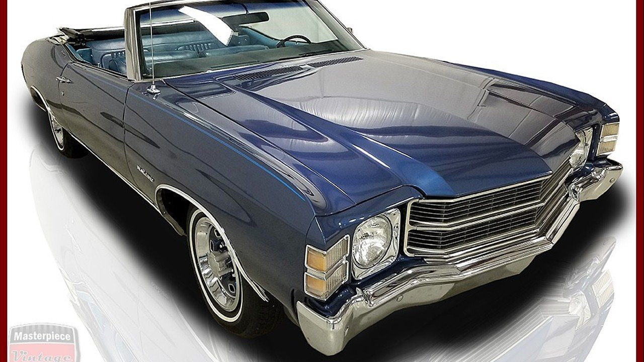 1971 Chevrolet Chevelle for sale 100919816