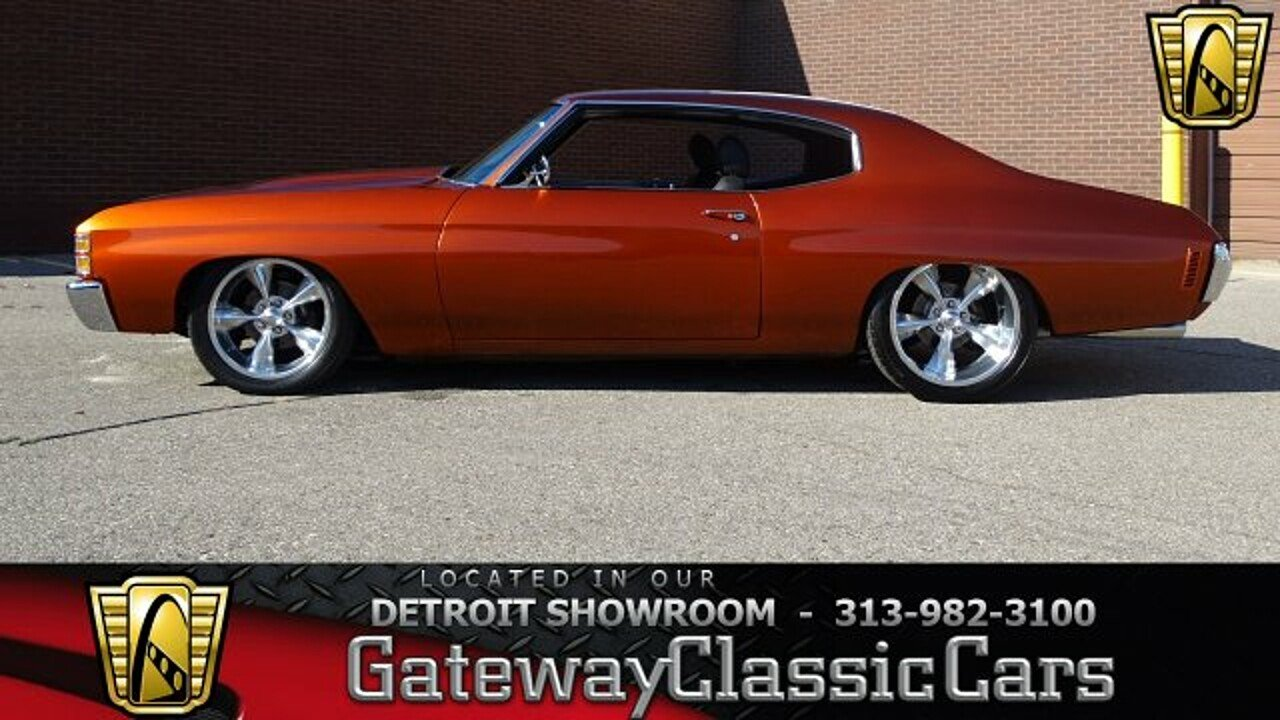 1971 Chevrolet Chevelle for sale 100920257