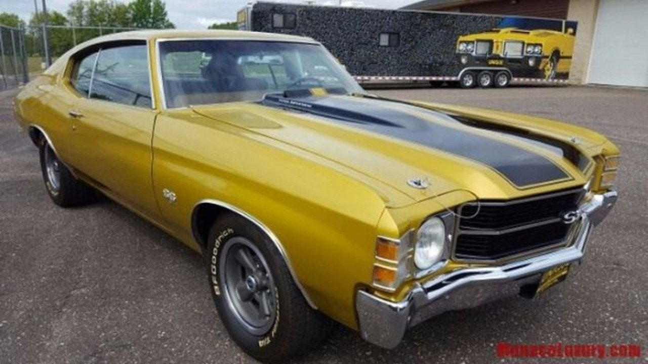 1971 Chevrolet Chevelle for sale 100931879