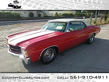 1971 Chevrolet Chevelle for sale 100975122