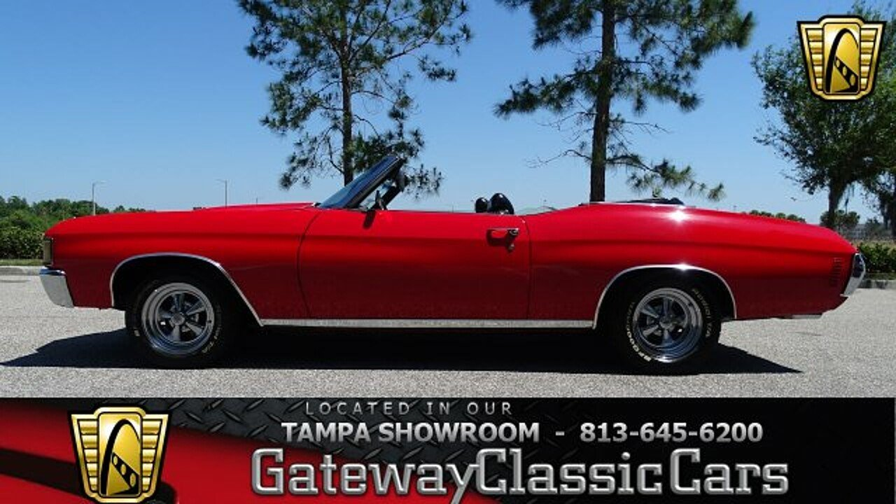 1971 Chevrolet Chevelle for sale 100990875
