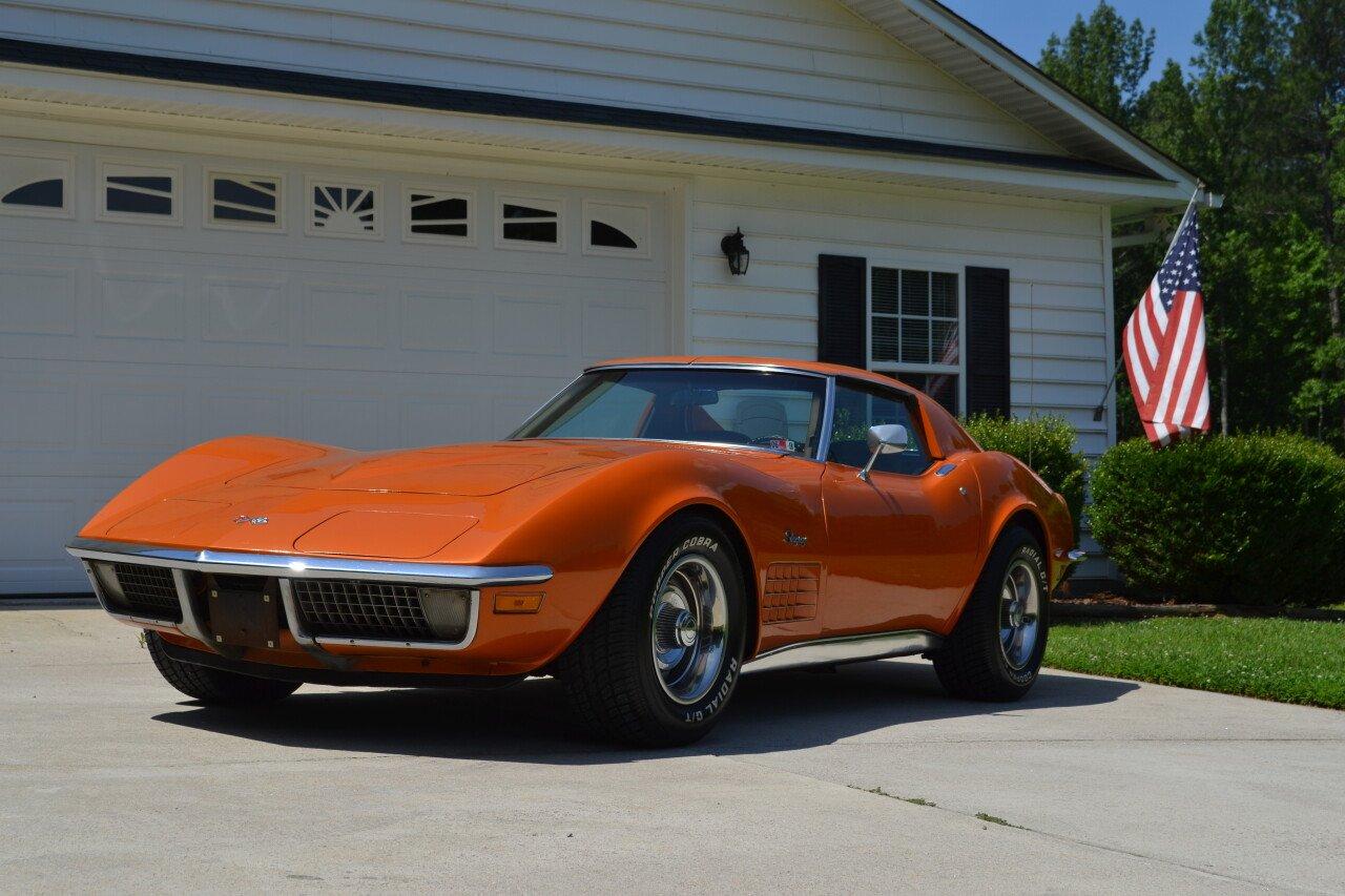 American Auto Sales Nc: 1971 Chevrolet Corvette For Sale Near Henderson, North
