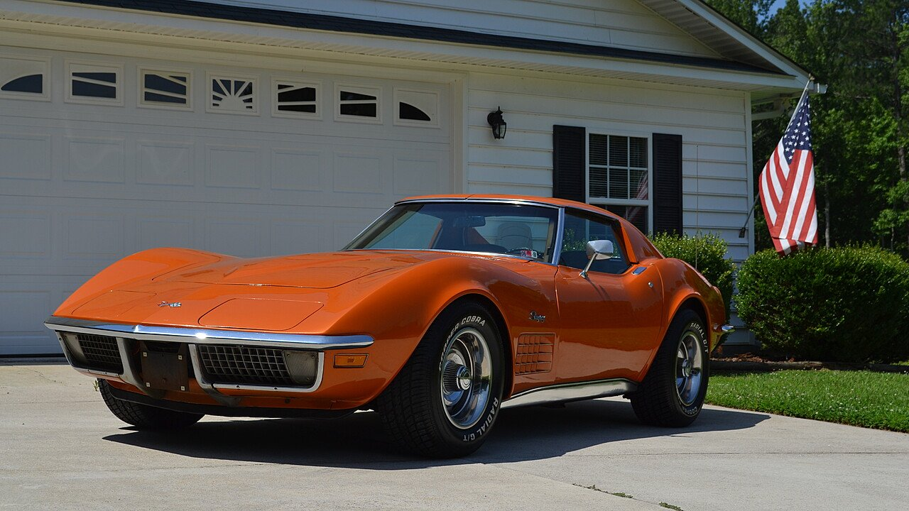 1971 Chevrolet Corvette for sale near Henderson, North Carolina ...