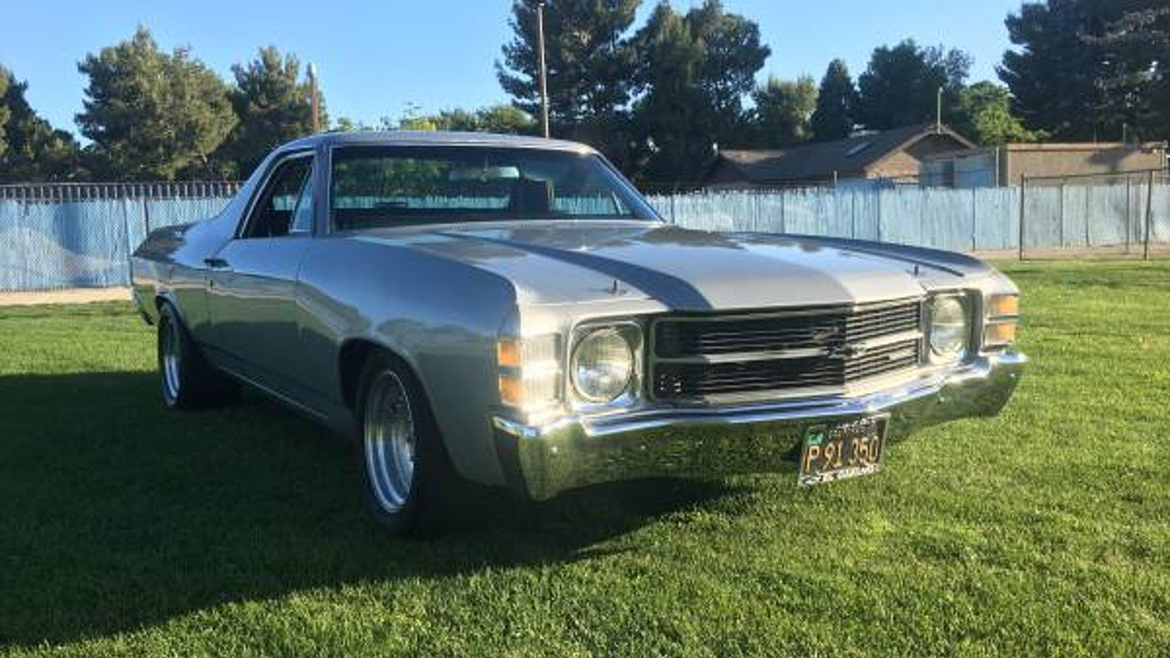 1971 Chevrolet El Camino V8 for sale 101002762