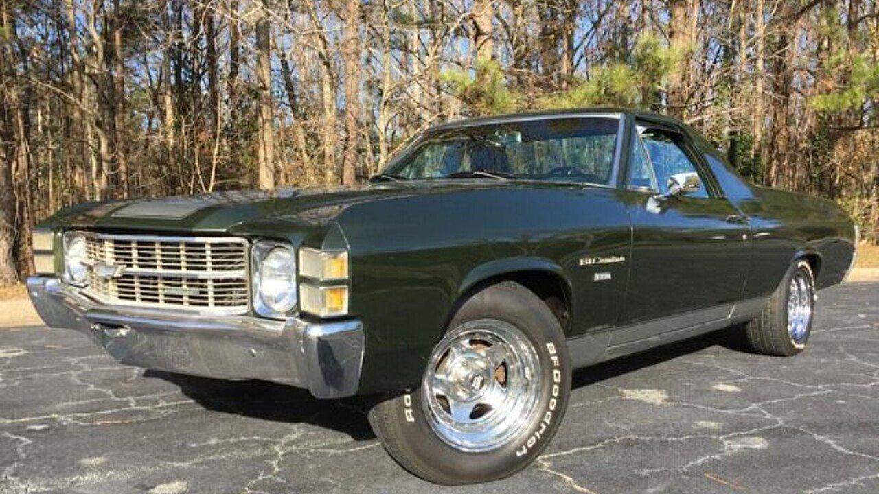 1971 Chevrolet El Camino for sale near Atlanta, Georgia 30340 ...