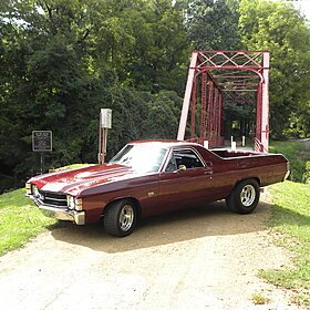 1971 Chevrolet El Camino for sale 100871882