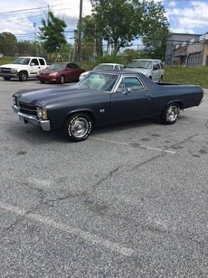 1971 Chevrolet El Camino for sale 100989282