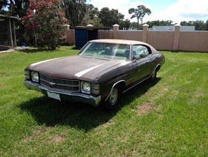 1971 Chevrolet Malibu for sale 100825352