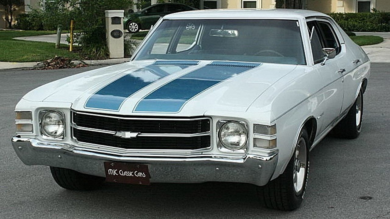1971 Chevrolet Malibu for sale 100988893