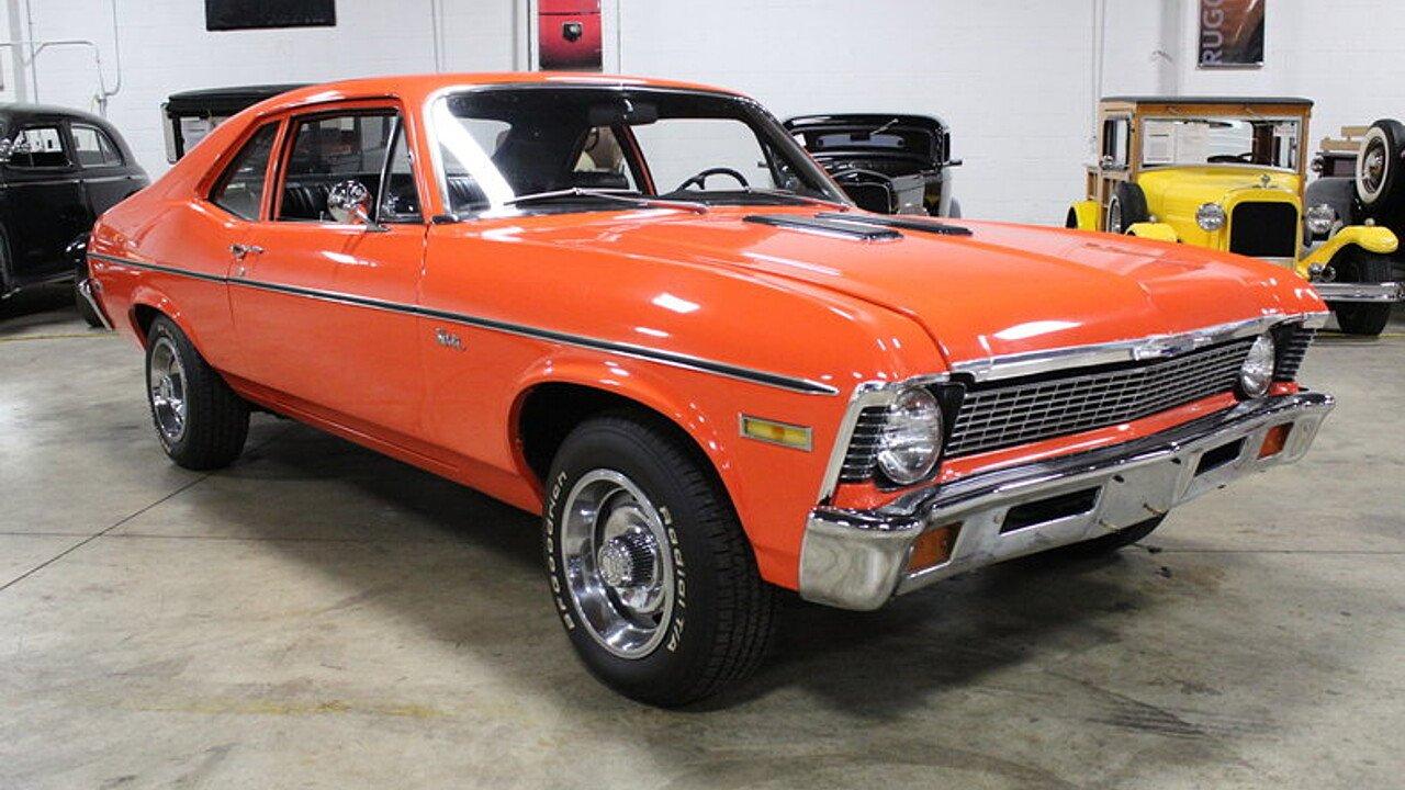 All Chevy 1971 chevrolet nova : 1971 Chevrolet Nova for sale near Grand Rapids, Michigan 49512 ...