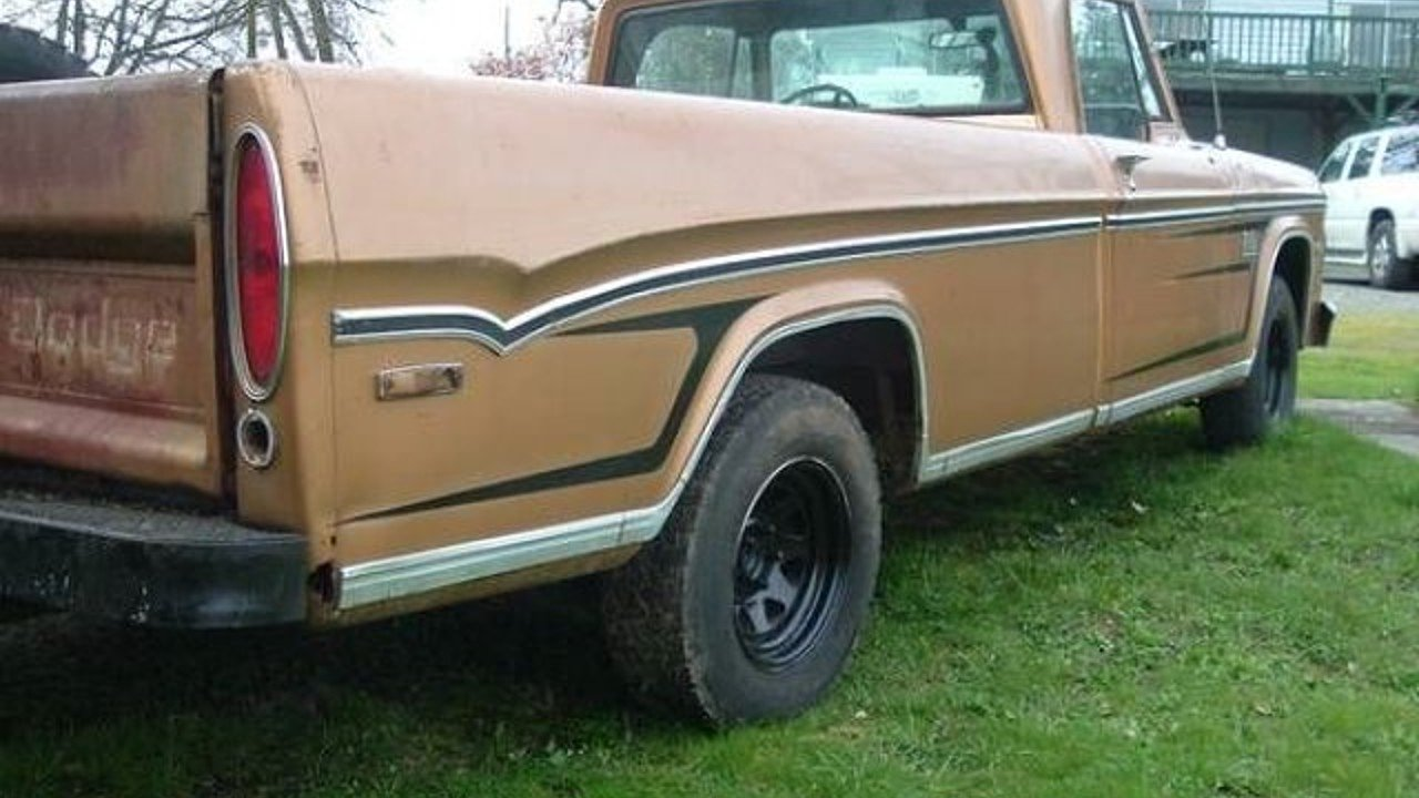 1971 Dodge D/W Truck for sale 100838419