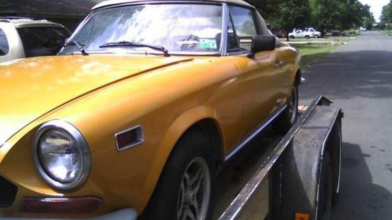 1971 Fiat Spider For Sale Near Cadillac Michigan 49601 Classics 124 Sport 100868649
