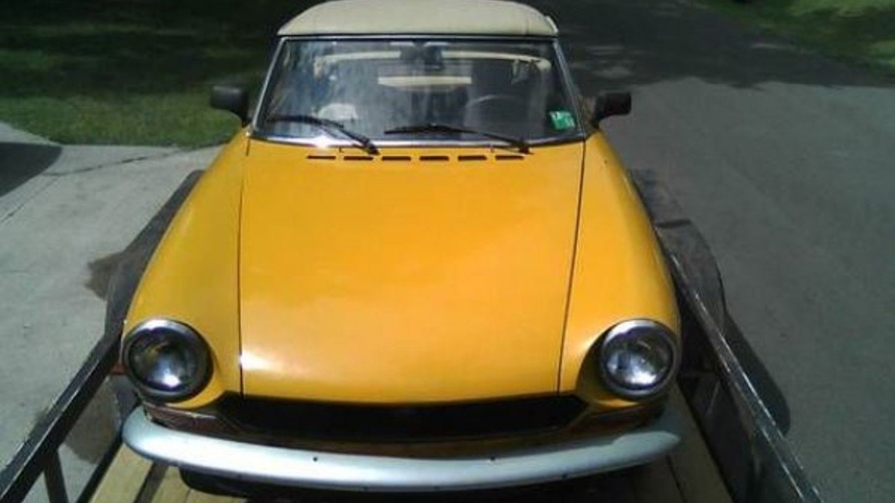 1971 Fiat Spider For Sale Near Cadillac Michigan 49601 Classics 124 Sport 100868649