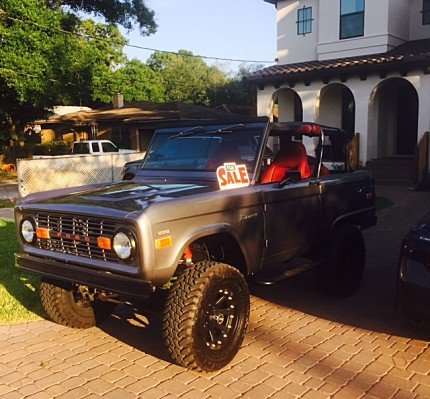 1971 Ford Bronco for sale 100761862