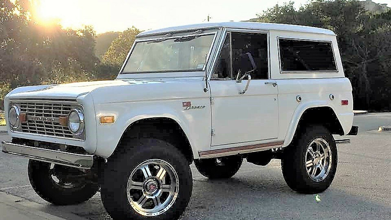 1971 Ford Bronco for sale 100884571