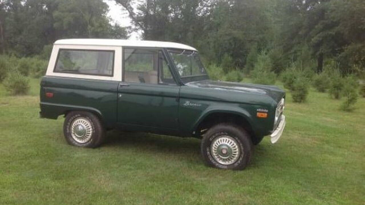 1971 Ford Bronco for sale 100896075