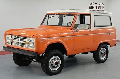 1971 Ford Bronco for sale 101022831