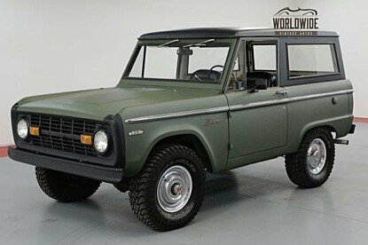1971 Ford Bronco for sale 101037370