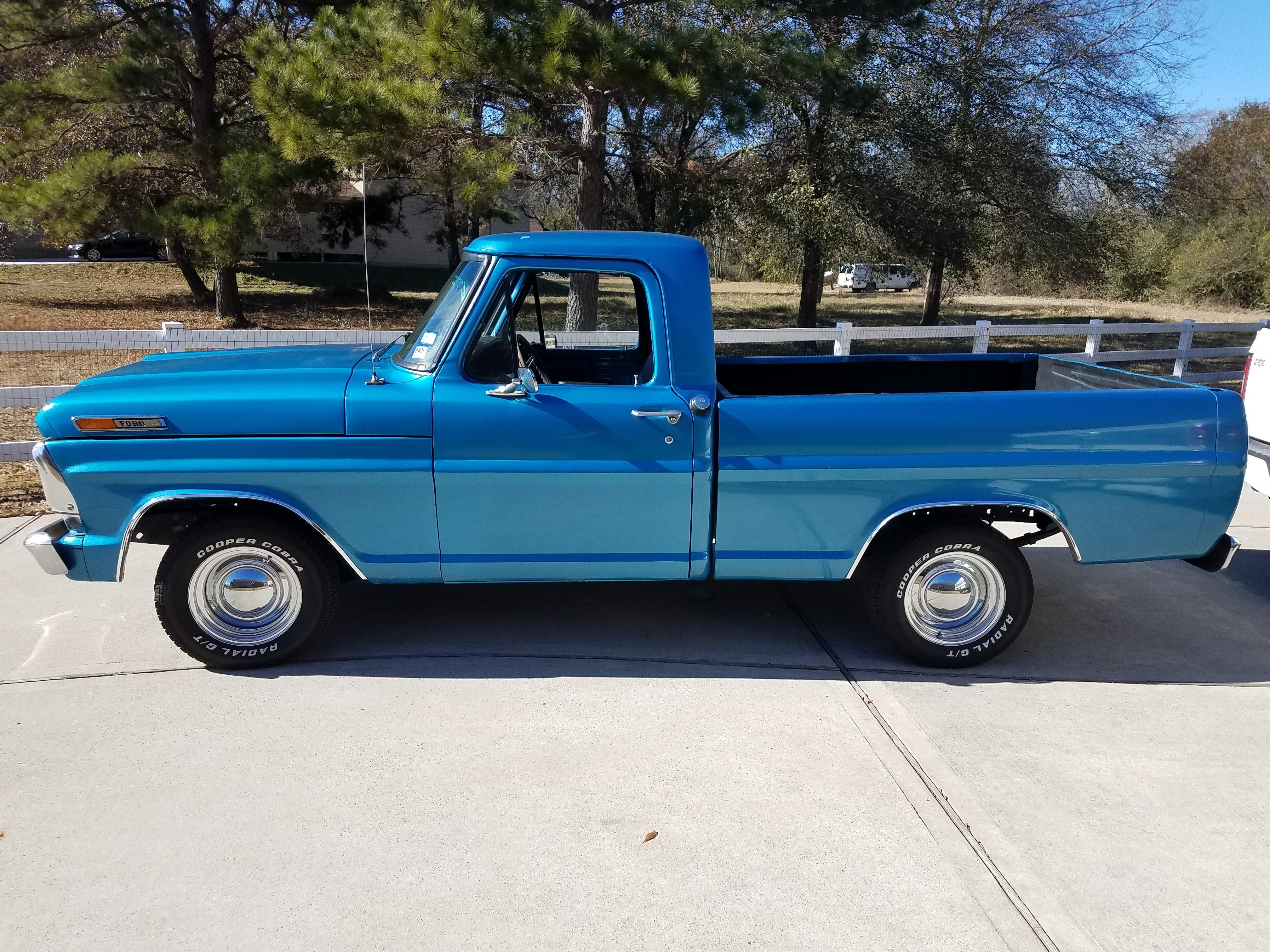 1971 Ford Stepside F100 Short Bed For Sale Regular Cab Near Cypress Texas 1280x720