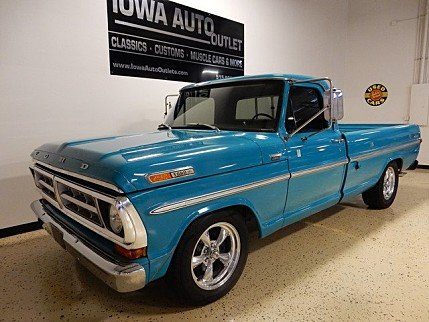 1971 Ford F100 for sale 100885856
