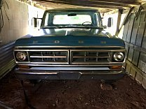 1971 Ford F100 2WD Regular Cab for sale 101006095