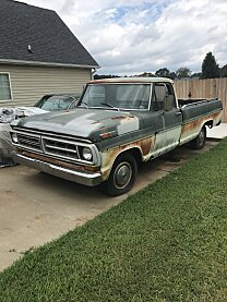 1971 Ford F100 2WD Regular Cab for sale 101018933
