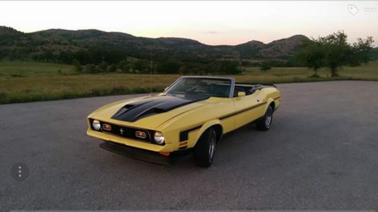 1971 ford mustang convertible for sale 101027858