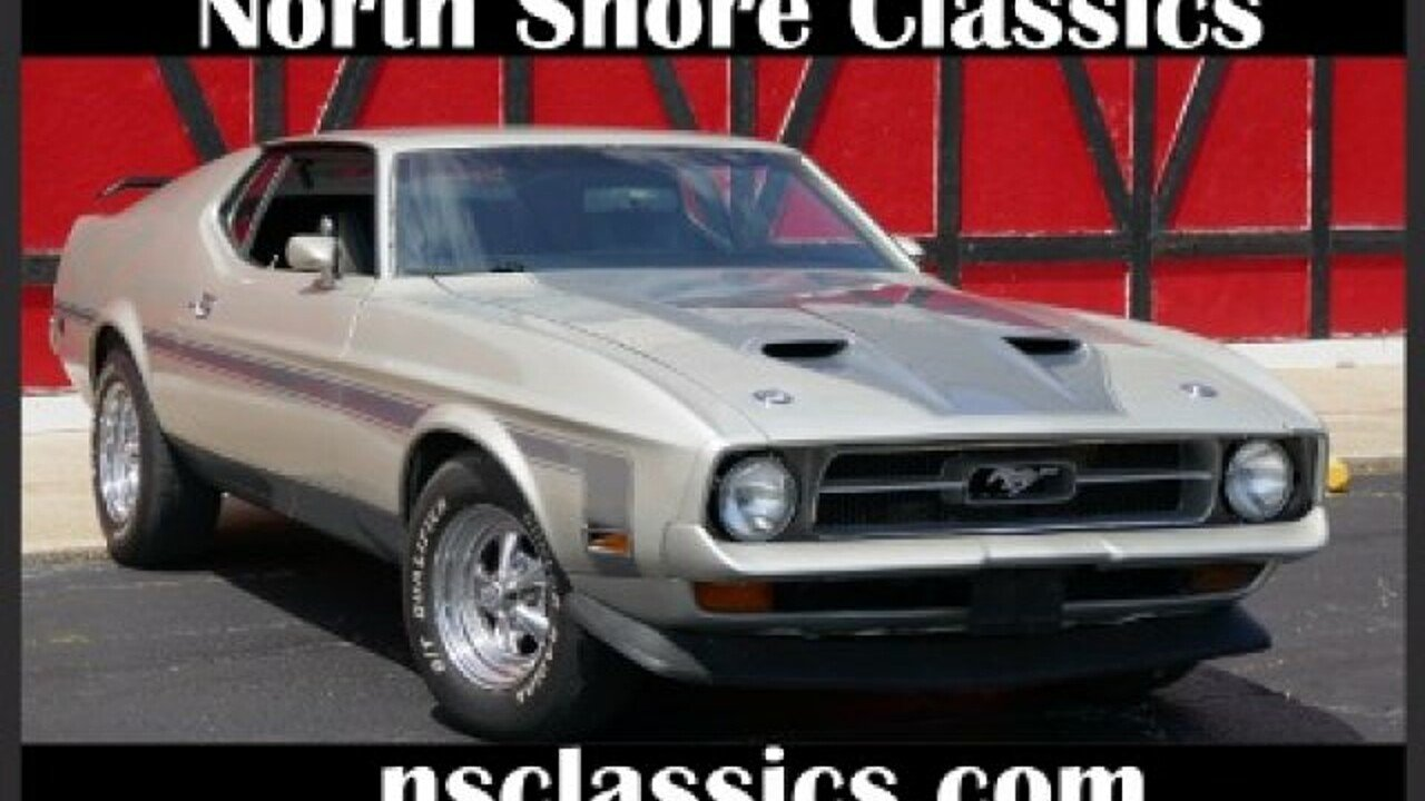 1971 Ford Mustang for sale 100881357