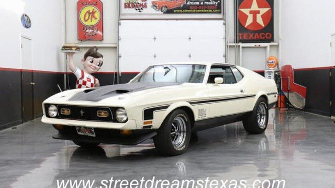 1971 Ford Mustang for sale near Fredericksburg, Texas 78624 ...