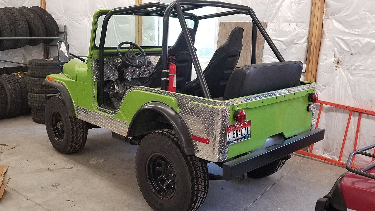 1971 Jeep CJ-5 for sale 101006526