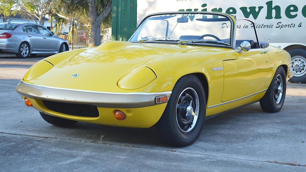 1971 Lotus Elan for sale 100844685