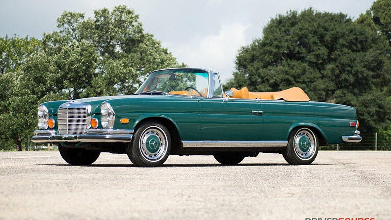 1971 Mercedes-Benz 280SE3.5 for sale near Houston, Texas 77079 ...