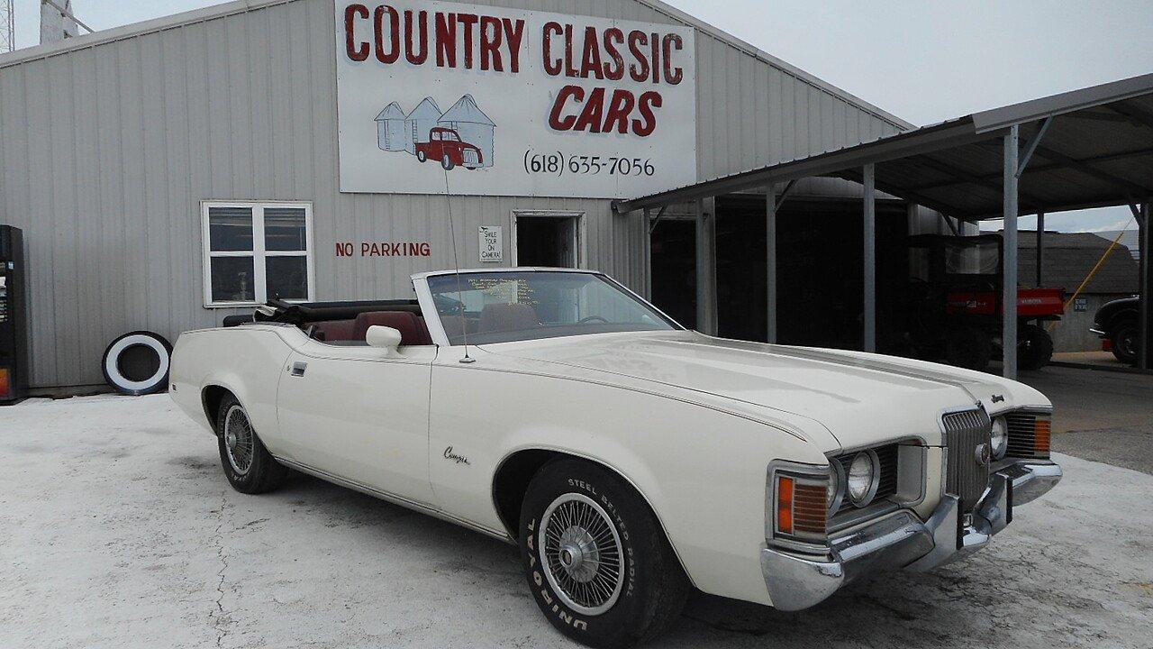 1971 Mercury Cougar for sale near Staunton, Illinois 62088 ...