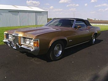 1971 Mercury Cougar for sale 100824968