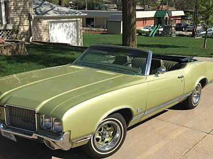 1971 Oldsmobile Cutlass Supreme Convertible for sale 100864782
