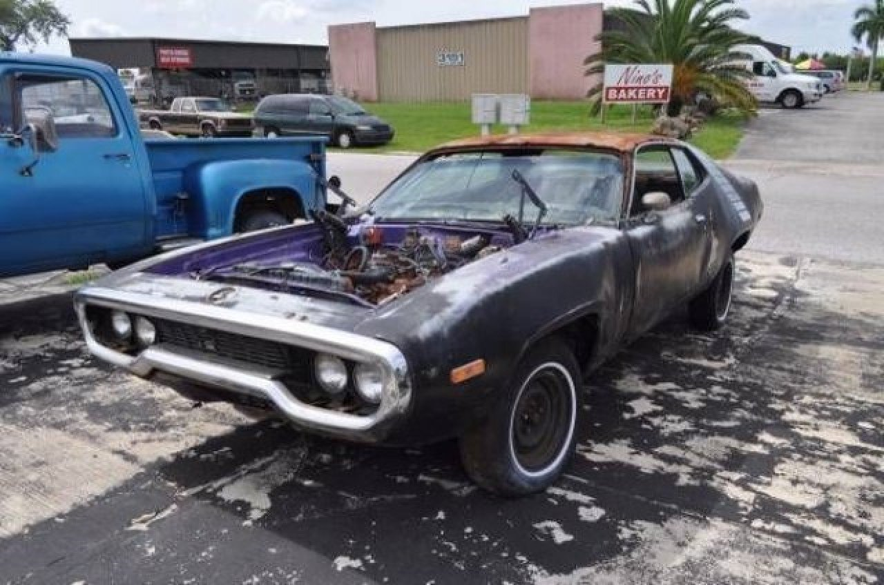 1971 Plymouth Roadrunner For Sale Near Cadillac Michigan