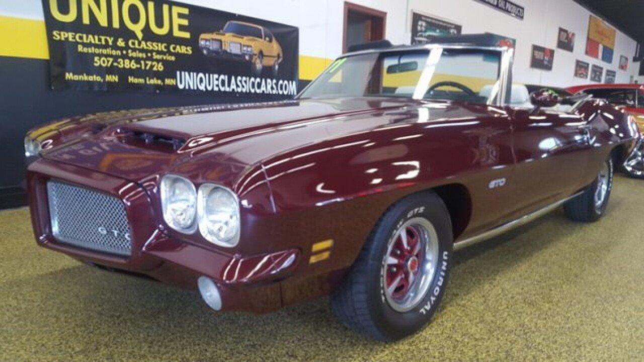 1971 Pontiac GTO for sale near Mankato, Minnesota 56001 - Classics ...