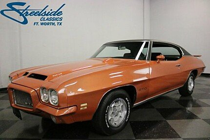 1971 Pontiac GTO for sale 100960476