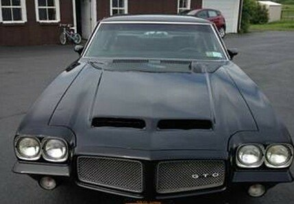 1971 Pontiac GTO for sale 101001507